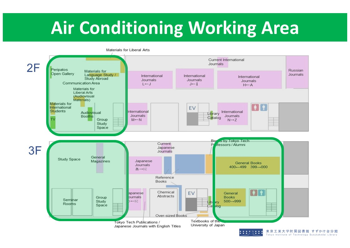 Air Conditioning Working Area